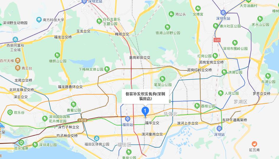 极客补发织发机构(深圳福田店)