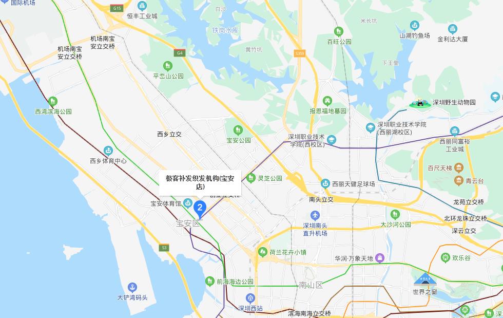 极客补发织发机构(深圳宝安店)